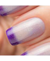 Bow Nail Polish Верхнее покрытие с термоэффектом (фиолетовое)