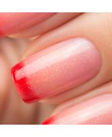 Bow Nail Polish Верхнее покрытие с термоэффектом (красное)