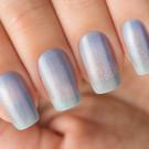 Bow Nail Polish Верхнее покрытие с термоэффектом (синее)