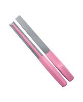 Butterfly Угловая пилка для ногтей и кутикулы Zero розовая