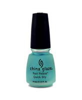 China Glaze Быстросохнущее верхнее покрытие Fast Freeze