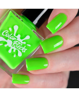 Color Flecks Lime Time