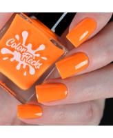 Color Flecks Orange Range