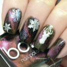 Bow Nail Polish Doomsday (holo) (автор - Екатерина Б.)