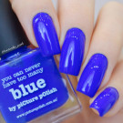 piCture pOlish Blue (author - victorika_nails)