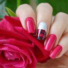 piCture pOlish Rose (автор - victorika_nails)