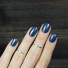 Bow Nail Polish Worthless Nights (автор - starkova_nails)