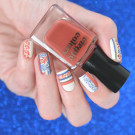 MoYou London Flower Power 23 (автор - kate_cuticle)