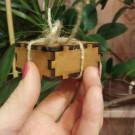 GREEN WOOD Деревянное кольцо Nocturne (автор - Ирина Давыдова)
