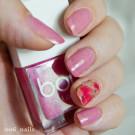 Bow Nail Polish Верхнее покрытие с термоэффектом (красное) (автор - o6_nails)