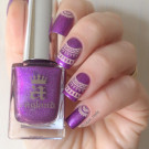 A-England Crown of Thistles (author - zaya_nails)