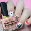 piCture pOlish Peaches n' Cream (author - epicnemy)
