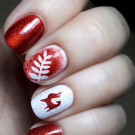 Colors by Llarowe The Mighty Red Baron (original) (автор - anna_love_nails)
