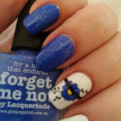 piCture pOlish Forget Me Not (author - Тусена)