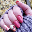 Whats Up Nails P056 Owl Always Love You (author - Тусена)