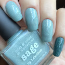 piCture pOlish Sage (Sage) (author - leoartnails)