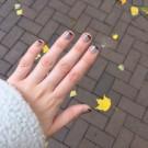 Bow Nail Polish Лак для ногтей с термоэффектом (черный) (author - Envendel)