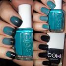 Bow Nail Polish Лак для ногтей с термоэффектом (черный) (author - Julz)