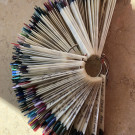 IRISK Дисплей-веер на кольце 50 шт. (матовый) (author - Sonvei)