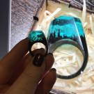 GREEN WOOD Деревянное кольцо Coral (автор - elcatka)