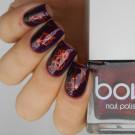 Bow Nail Polish In Flames (author - anna_garo_21)