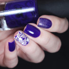 Masura 1177 Весенний Крокус (1177 Spring Crocus) (author - xlight_nails)
