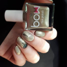 Bow Nail Polish In Heaven (holo) (author - alena_skazka)