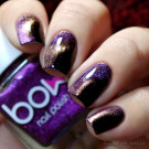 Bow Nail Polish Alpha Omega (автор - Murka_vk_nails)