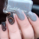 Cadillacquer White Night (автор - Murka_vk_nails)