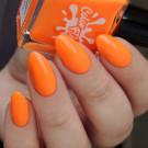 Color Flecks Orange Range (author - Murka_vk_nails)