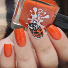 Color Flecks Tiger Lily (author - Murka_vk_nails)