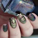 Whats Up Nails B034 Deck the Nails (автор - Murka_vk_nails)