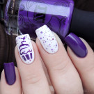 Whats Up Nails Трафарет Кекс (автор - Murka_vk_nails)