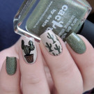 Picture Polish Cactus (author - Murka_vk_nails)