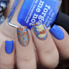 piCture pOlish Forget Me Not (Forget Me Not) (author - Murka_vk_nails)