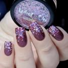 Whats Up Nails Глиттер Битое Стекло Розовый металлик (author - Murka_vk_nails)