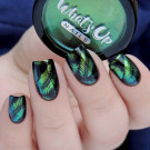 Whats Up Nails Пудра для дизайна Абсент (Absinthe Powder) (author - Murka_vk_nails)