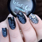 MoYou London Black Knight (автор - Murka_vk_nails)