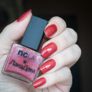 NCLA Red Square (author - sibri_nails)