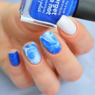 piCture pOlish Forget Me Not (author - medlennaya_zvezda)