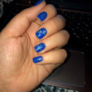 piCture pOlish Forget Me Not (author - EllenK)