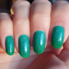 Bow Nail Polish Верхнее покрытие с термоэффектом (зеленое) (автор - Squirrel713)