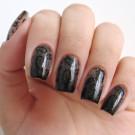 Bow Nail Polish Лак для ногтей с термоэффектом (черный) (author - Re-l124c41)