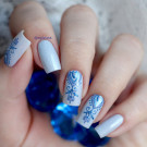 Dance Legend 17 Metalic Blue (автор - nailcissa)