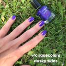 Cirque Colors Dusky Skies (author - Themadqueen)