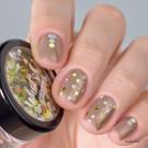 Whats Up Nails Глиттер Конфетти Маргарита (Margarita Confetti (Gold Holo))