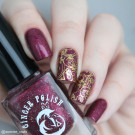 Ginger Polish Cherry Wine (author - sunrise_nails)