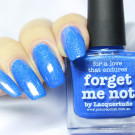 piCture pOlish Forget Me Not (author - Skoronna)