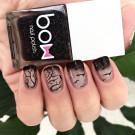 Bow Nail Polish Лак для ногтей с термоэффектом (черный) (author - musakanails)