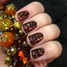 piCture pOlish Solar Flare (author - musakanails)